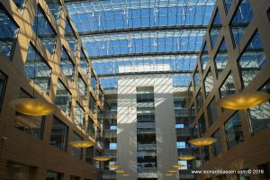 UBC, glass ceiling, lights, architecture