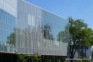 UBC, glass, reflection, architecture